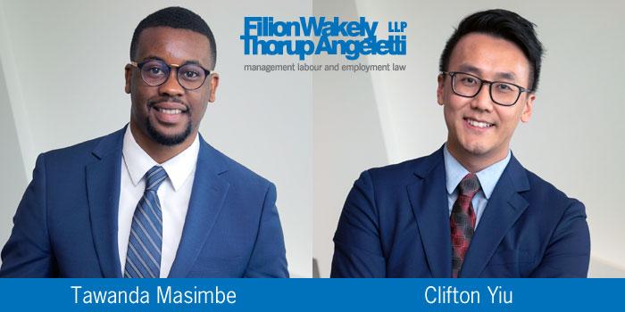 Tawanda and Clifton